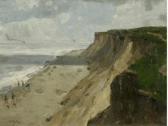 Campbell Archibald Mellon (British, 1876-1955) 'Hopton Cliff - Morning 10.30'