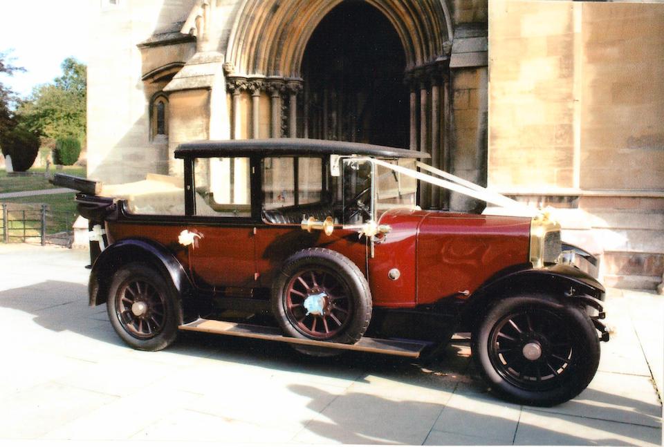1924 Panhard et Levassor 14/20hp Open Drive Landaulette  Chassis no. 58513 Engine no. 58513