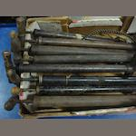 Eight stirrup pumps,