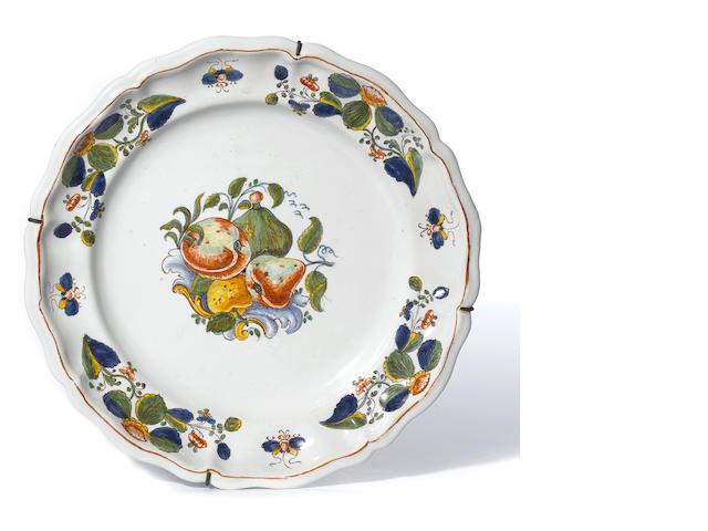 An Antonibon Frutta Barocca plate