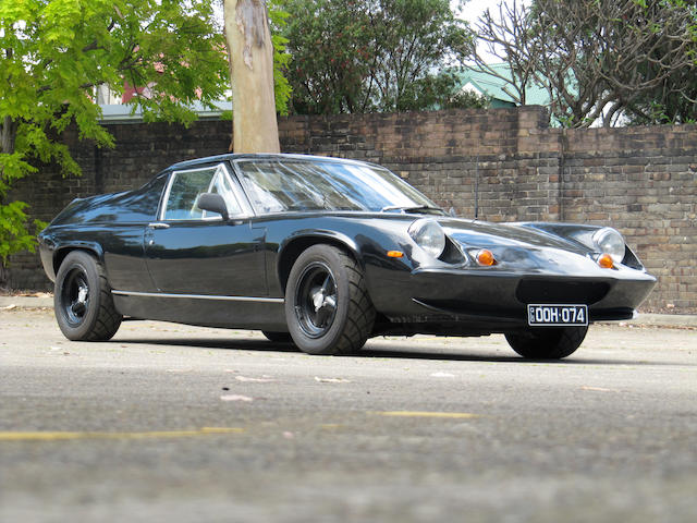 1972 Lotus Europa Twin Cam Special  Chassis no. 72121944P Engine no. P28634