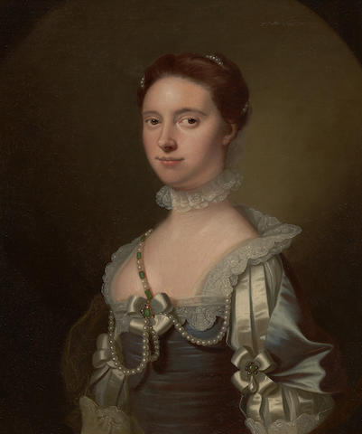 Allan Ramsay - Lady Johnstone of Westerhall (provenance details attached to reverse of picture)