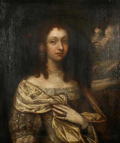 Follower of John Michael Wright (British, 1617-1694) Portrait of a lady