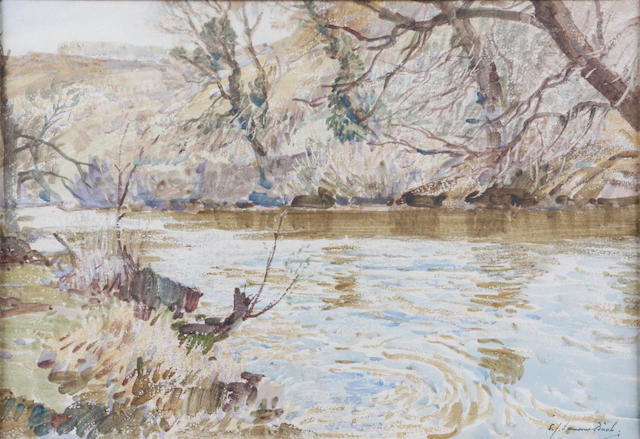 Samuel John Lamorna Birch, R.A., R.W.S., R.W.A. (British, 1869-1955) Spring, Devonshire stream