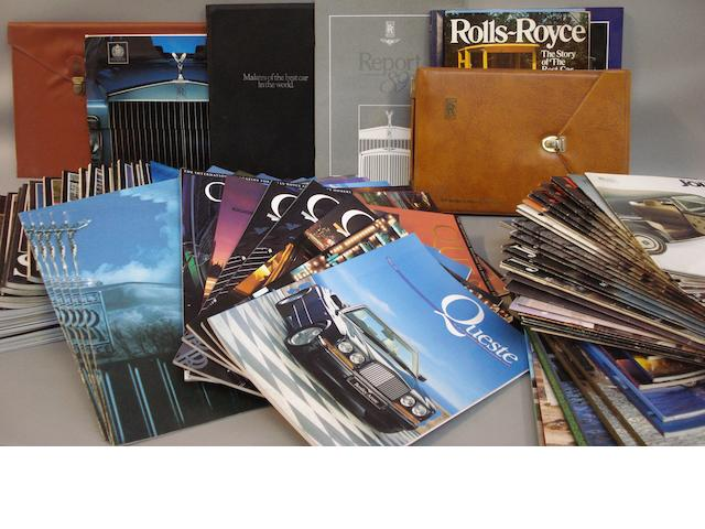 A quantity of Rolls-Royce related magazines,