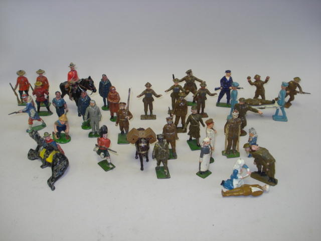 British hollowcast figures 80