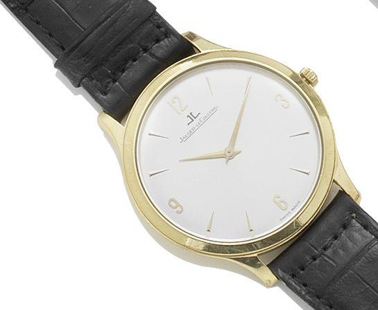 Jaeger-LeCoultre. An 18ct gold manual wind wristwatch Master Control, Number: 0469, Reference: 145.1.79