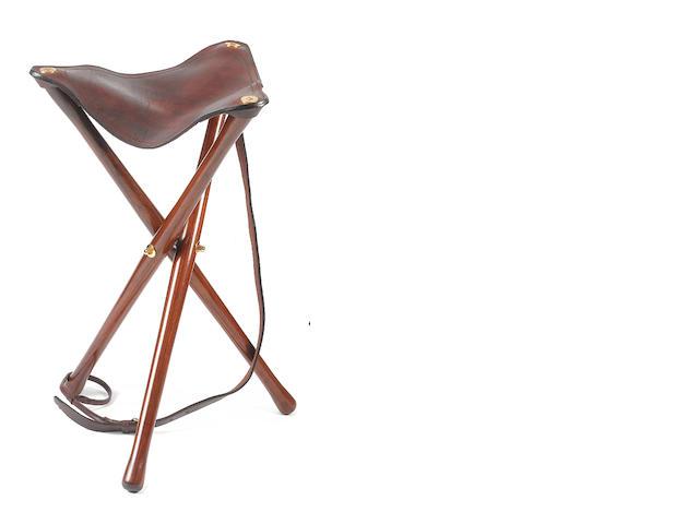 A modern shooting tripod-seat by J & R Guram