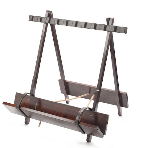 "A ""The Colonial"" travelling gun-rack"