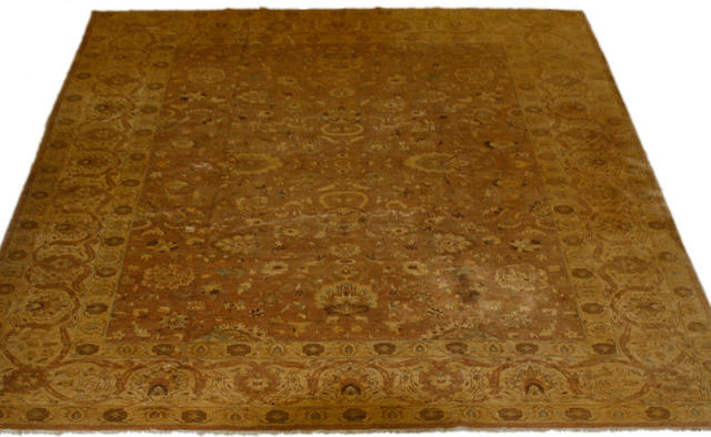 A modern Afghan Ziegler style carpet 452 x 355cm