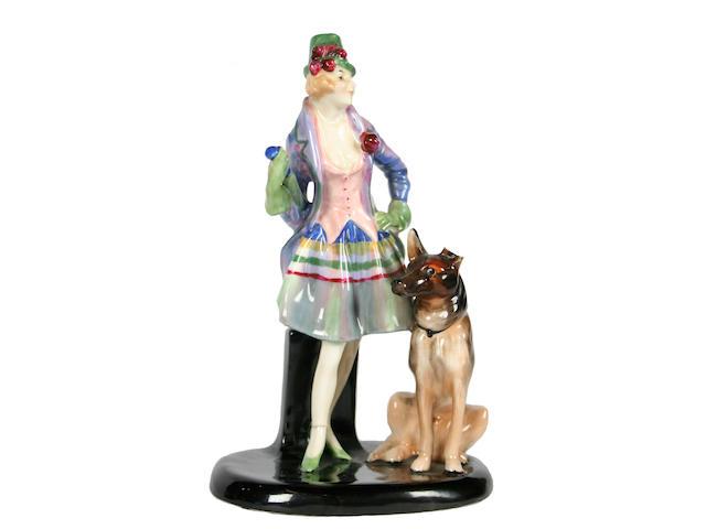 Figurines A Royal Doulton figure of 'Moira'