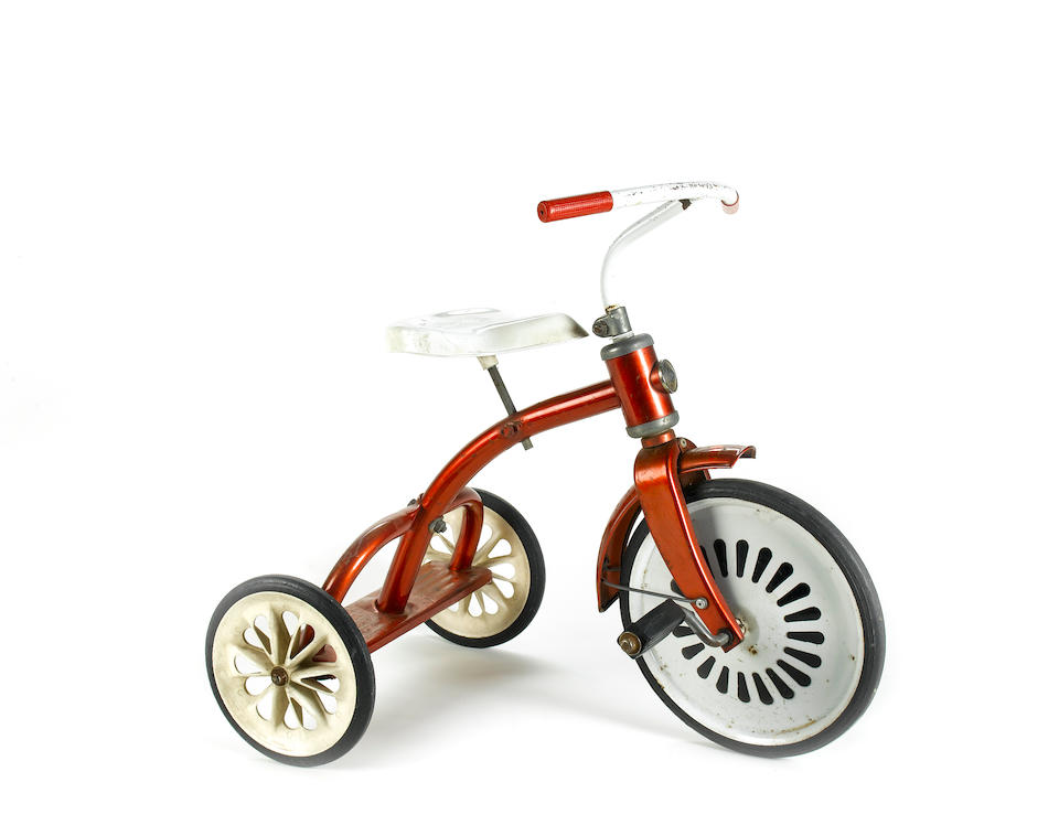 'The Omen', 1976: the original child's tricycle used by Harvey Stephens in his role as 'Damien',
