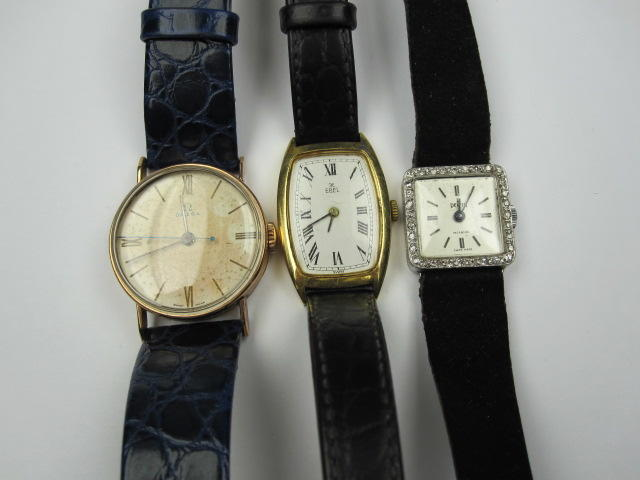 Three wristwatches,(3)