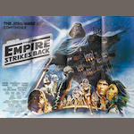 Two Star Wars related film posters, including; Star Wars, Twentieth Century Fox, 1977,  2