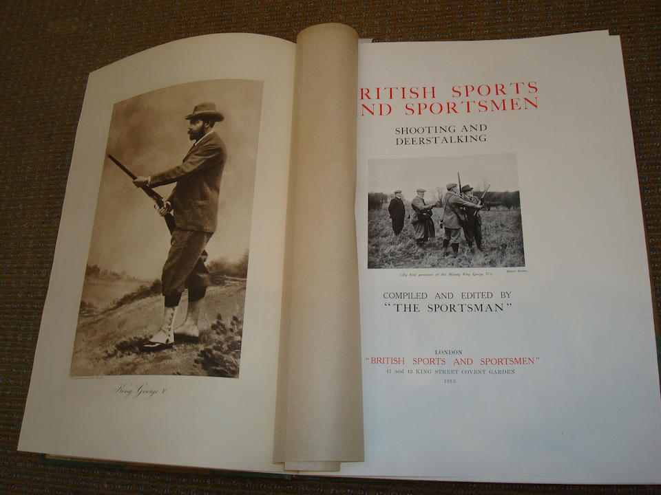SPORTSMAN, THE The British Sports and Sportsman, Shooting and Deer Stalking