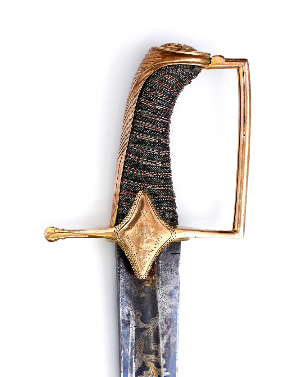 A Very Rare Regimental 1796 Pattern Light Cavalry Officer's Sabre Of The 10th Light Dragoons