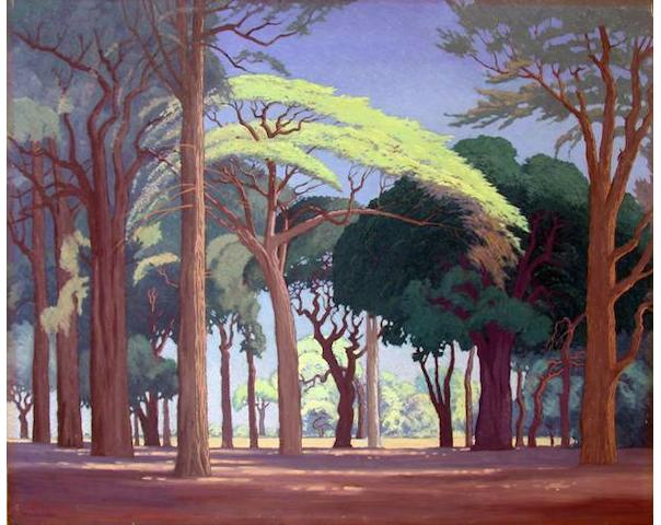 Jacob Hendrik Pierneef (South African, 1886-1957) Bosveld