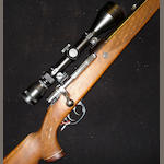 A 7x64mm sporting rifle by Parker-Hale, no. S-11814