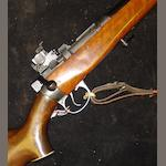 A 7.62mm 'T4' Lee Enfield target rifle by Parker Hale, no. 388