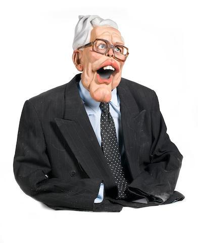 Spitting Image: a Douglas Hurd puppet