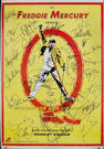 An autograped 1992 Freddie Mercury Tribute concert poster,