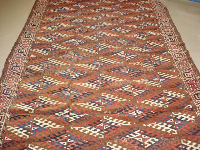A Yomut carpet West Turkestan, 220cm x 190cm