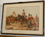 Attributed to Henry de Daubrawa (Exhibited c1840-1862) The 6th Inniskilling Dragoons, 1850
