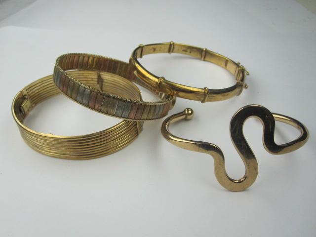 Three bangles,