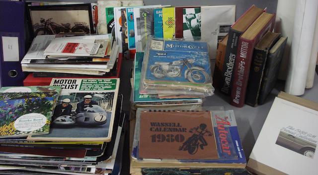 A quantity of literature,