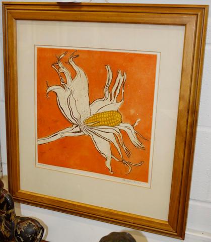 Christopher Sanders (British, 1905-1991) Corn