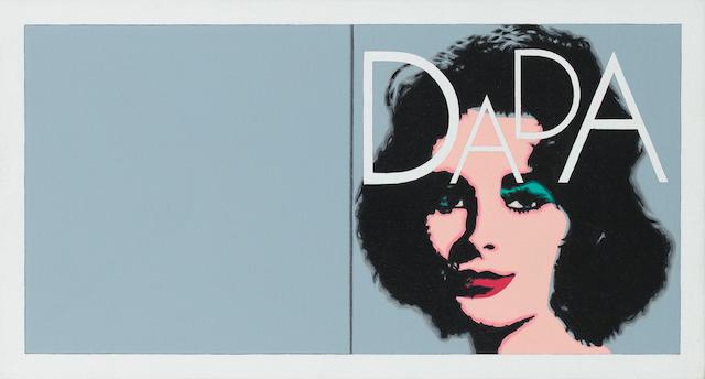 Richard Pettibone (American, born 1938) 'Andy Warhol 'Liz Diptych', 1963 DADA', 2002
