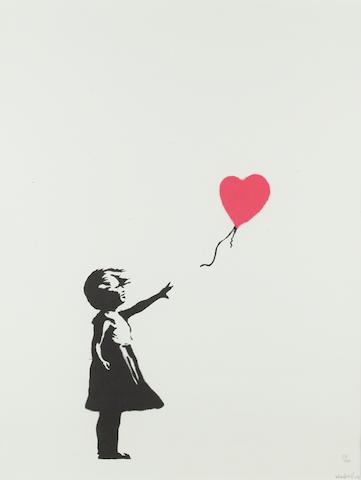Banksy (British, born 1975) 'Balloon Girl', 2004