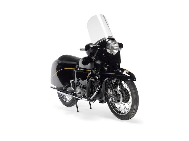 The sole factory prototype,1955 Vincent 499cc Victor Series D Frame no. RD 12538 Engine no. F5AB/3A/10638