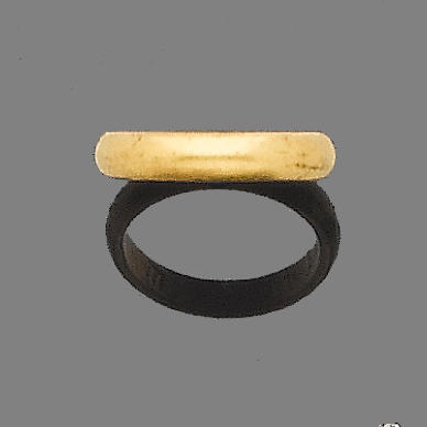 A late 17th century posy ring