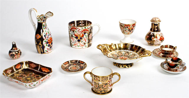 A small quantity of Royal Crown Derby Imari porcelain Various dates