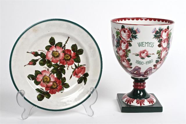 A Wemyss centenary commemorative vase