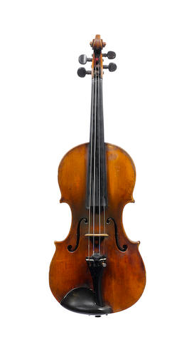 A French Violin  attributted to F. Caussin, Neufchateau circa 1860 (4)