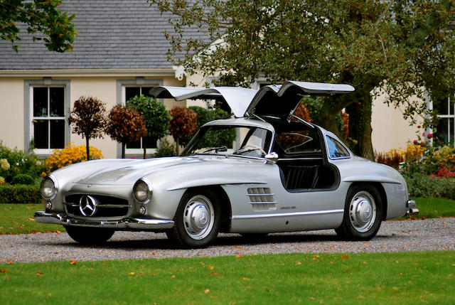 1955 Mercedes-Benz 300SL 'Gullwing' Coupé  Chassis no. 198.0405500159 Engine no. 198.9805500169