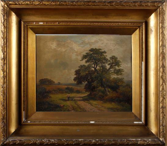 George Turner (British, 1843-1910) Sinfen Lane, Derbyshire
