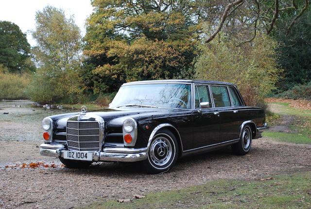 1971 Mercedes 600 Grosser,