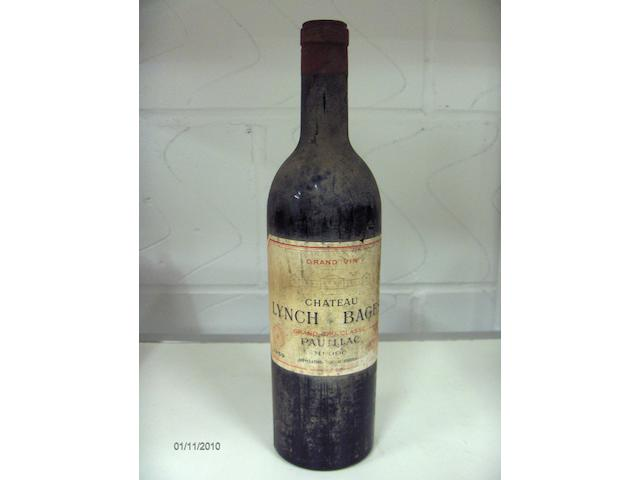 Chateau Lynch Bages 1959 (1)