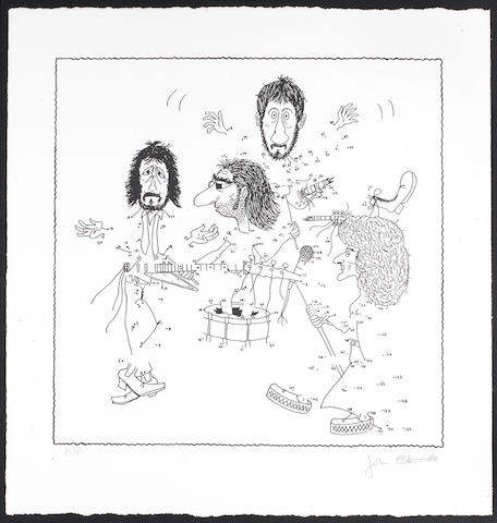John Entwistle: 'The Who By Numbers' limited edition print,
