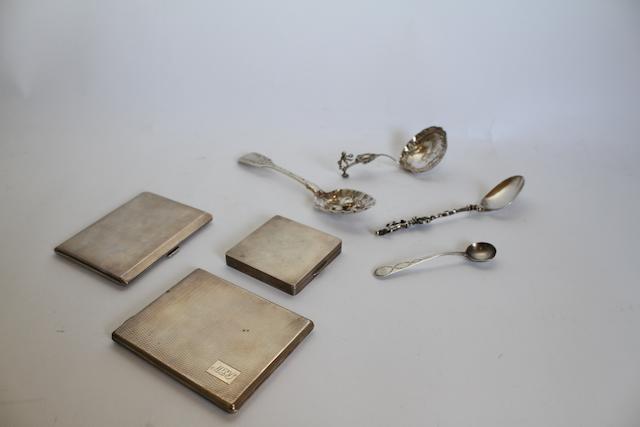 A small quantity of silver