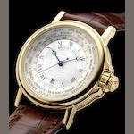 Breguet. A fine 18ct gold automatic World Time calendar wristwatch Marine 3700BA/12/9V6, recent
