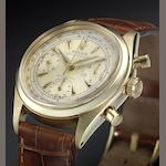 Rolex.A fine and rare 14ct gold chronograph wristwatch Oyster Chronograph, Anti-Magnetic, Ref:6234, circa 1962