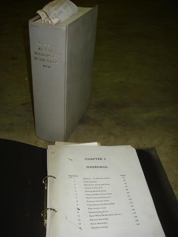 A Rolls-Royce Silver Wraith Workshop Manual,