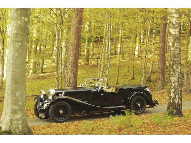 The ex-Bidwell-Topham, Nick Mason,1934 Lagonda M45 Tourer  Chassis no. 210875 Engine no. 22623