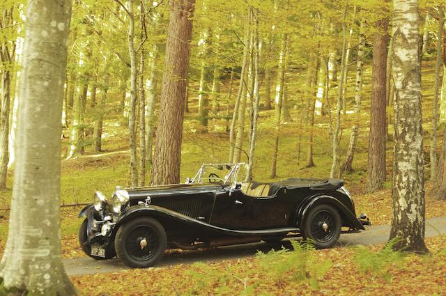 The ex-Bidwell-Topham, Nick Mason,1934 Lagonda M45 Tourer  Chassis no. 210875 Engine no. 22623