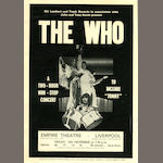 The Who: A UK 'Tommy' tour programme and handbill,  December 1969,2