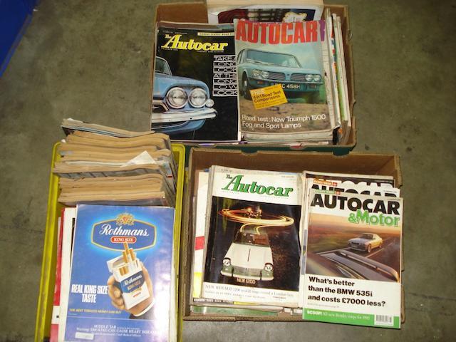 Autocar Manuals 1960-1967,